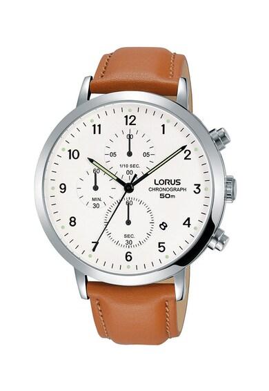 Lorus Ceas cronograf cu o curea de piele Barbati