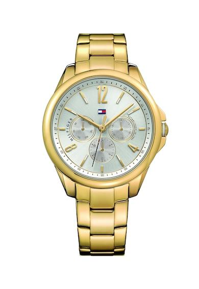 Tommy Hilfiger Овален часовник с метална верижка Жени