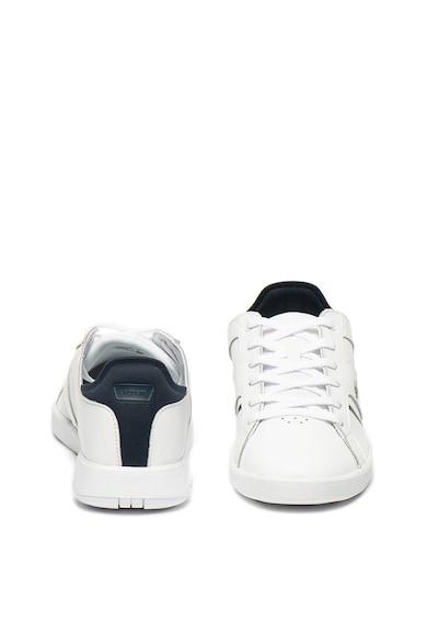 Lacoste Novas bőr sneaker műbőr betétekkel férfi
