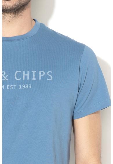 Hackett London Тениска с текстова щампа Мъже