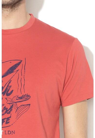 Hackett London Десенирана тениска Мъже