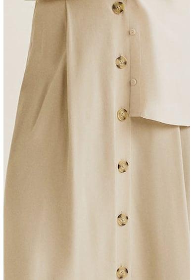 Mango Domenica modáltartalmú bővülő szoknya női