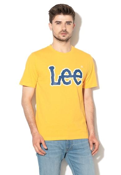Lee Tricou regular fit cu imprimeu logo cauciucat Barbati