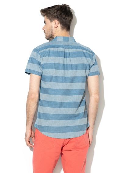 Wrangler Раирана риза с къси ръкави Мъже
