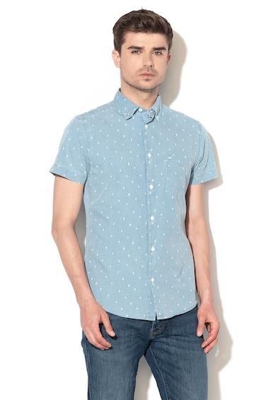 Wrangler Десенирана риза с джоб отпред Мъже