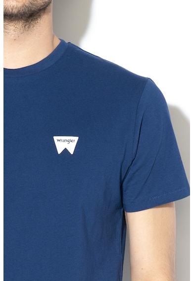 Wrangler Tricou cu detalii cu imprimeu logo Sign Off Barbati