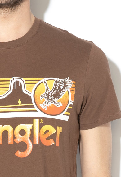 Wrangler Tricou cu imprimeu logo Eagle Barbati