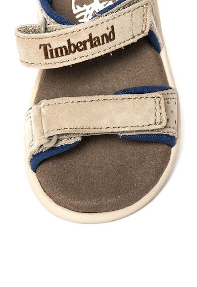 Timberland Sandale cu insertii de piele intoarsa Nubble Fete