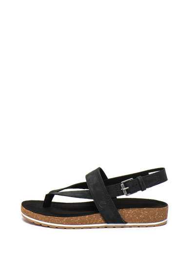 Timberland Sandale de piele intoarsa, cu bareta separatoare Malibu Waves Femei