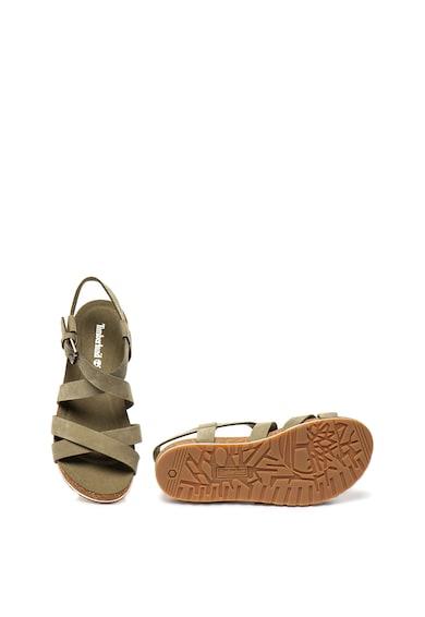 Timberland Sandale de piele nabuc cu brant anatomic Malibu Waves Femei