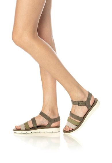 Timberland Sandale de piele nabuc cu amortizare Lottie Lou Femei