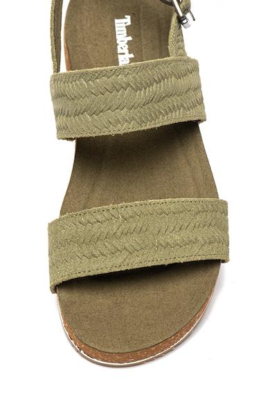 Timberland Sandale de piele intoarsa Malibu Waves Femei