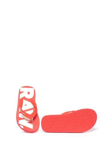 G-Star Raw Papuci flip-flop cu imprimeu logo Dend D1491 Femei
