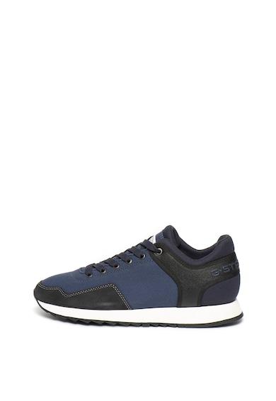 G-Star Raw Pantofi sport de piele intoarsa si material textil Calow Barbati
