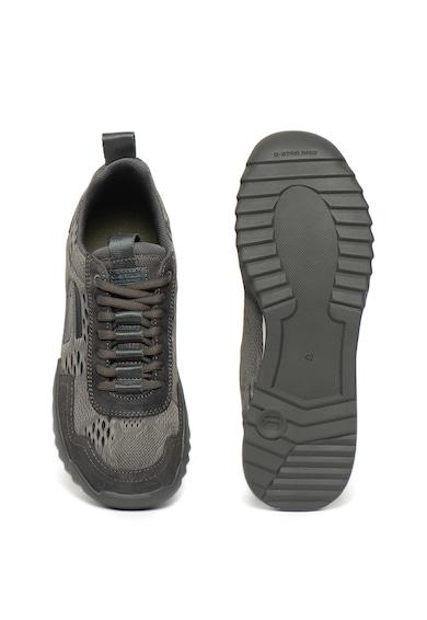 G-Star Raw Pantofi sport de piele intoarsa si material textil Rackam Rovic Barbati