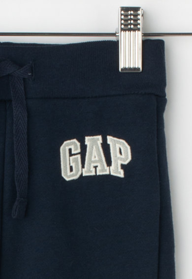 GAP Pantaloni sport cu captuseala de fleece si logo brodat Baieti
