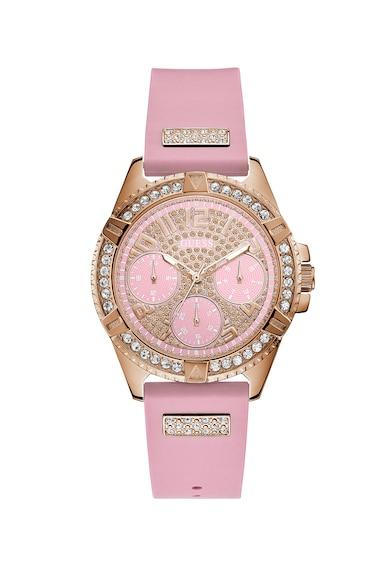 Guess Мултифункционален часовник с кристали Жени