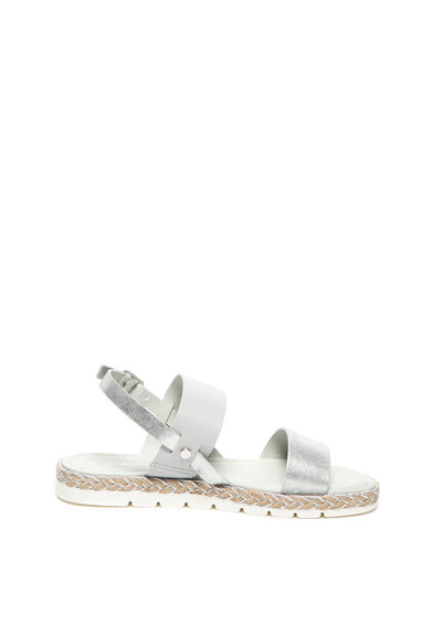 Marco Tozzi Sandale slingback de piele cu detalii stralucitoare Femei