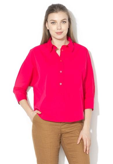 United Colors of Benetton Bluza cu fenta cu nasturi Femei