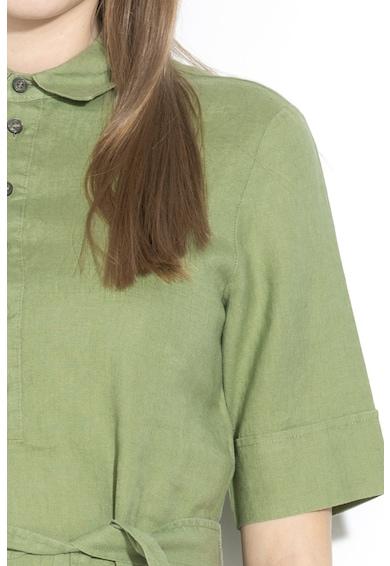 United Colors of Benetton Rochie de in cu buzunar pe piept si cordon Femei