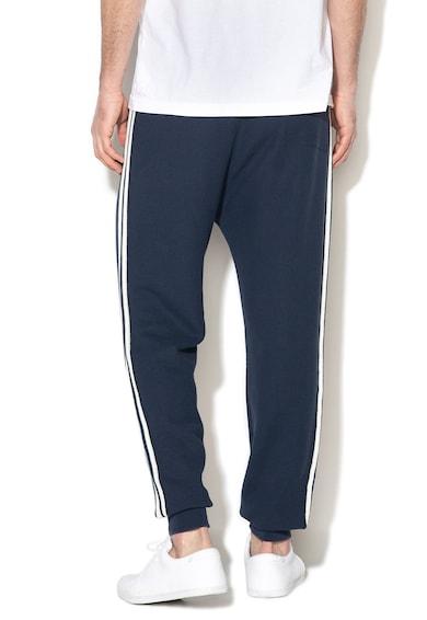 United Colors of Benetton Pantaloni sport din tricot fin cu snur pentru ajustare Barbati