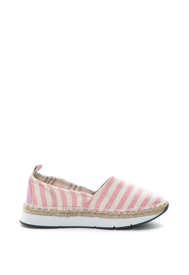 United Colors of Benetton Pantofi loafers flatform cu dungi Femei