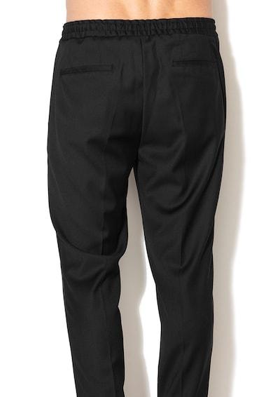 Selected Homme Pantaloni conici din amestec de lana Barbati