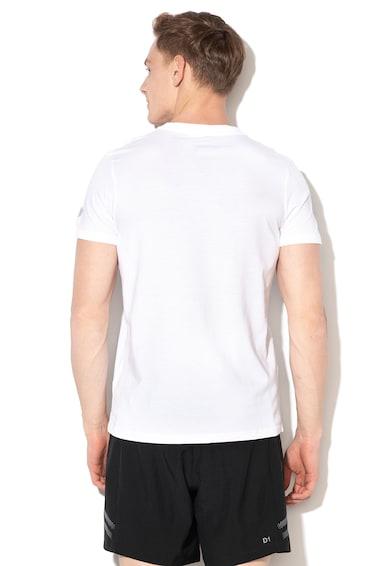 Asics Тениска с шарка, за фитнес Мъже