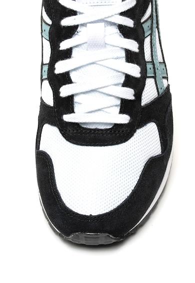 ASICS Tiger Pantofi sport de piele intoarsa si material textil Lyte-Trainer Barbati