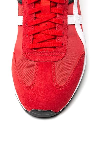 Onitsuka Tiger Pantofi sport de piele intoarsa si material textil California Femei