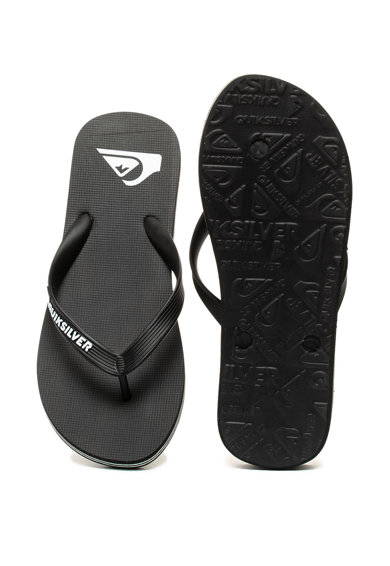 QUIKSILVER Papuci flip-flop cu logo Molokai Barbati