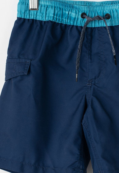 QUIKSILVER Pantaloni scurti de baie, cu imprimeu logo Baieti