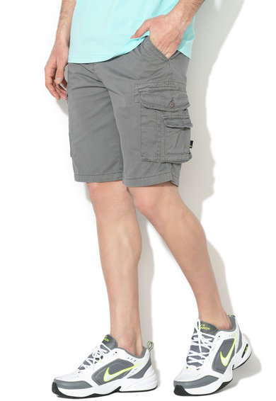 QUIKSILVER Straight fit szűkülő cargo bermuda nadrág férfi