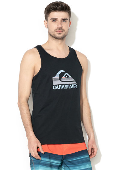 QUIKSILVER Top regular fit cu logo Waves Barbati