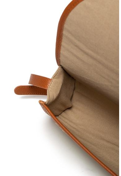 ROXY Geanta crossbody de paie, cu garnituri de piele ecologica Femei