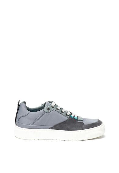 Diesel Pantofi sport de piele si material textil Danny Barbati