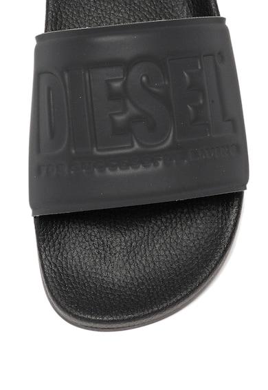 Diesel Papuci cu logo in relief Valla Barbati