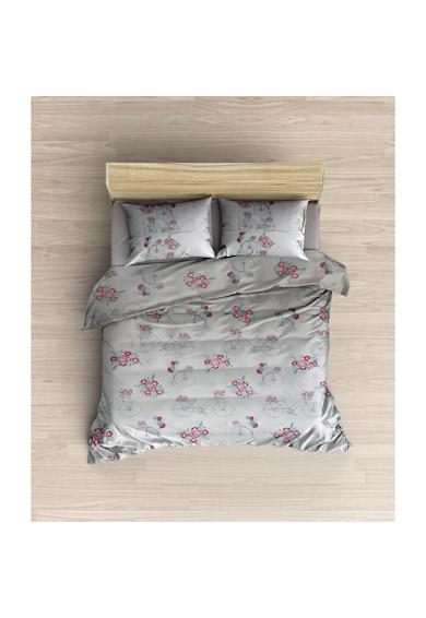 Malucs Textil Lenjerie de pat pentru 2 persoane Floretta Bloom Malucs Femei