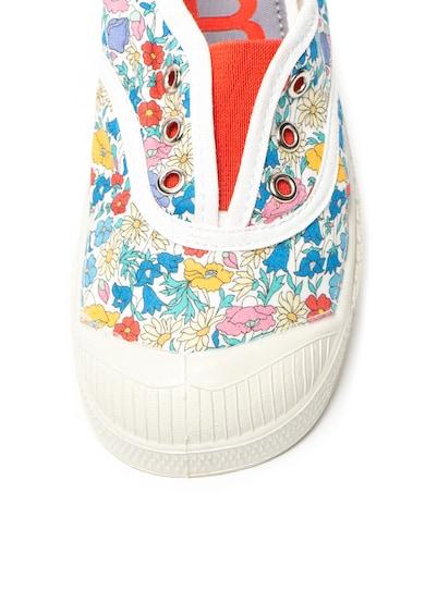 Bensimon Pantofi slip-on cu model floral Elly Fete