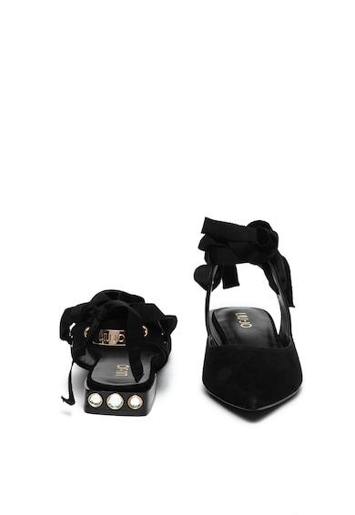 Liu Jo Pantofi slingback de piele intoarsa Viky Femei