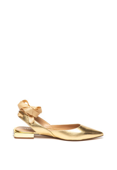 Liu Jo Viky bőr sarokpántos cipő női