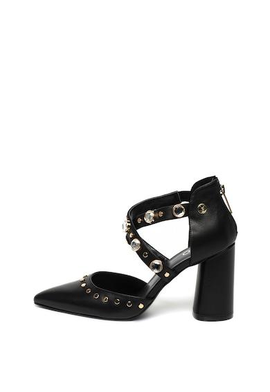 Liu Jo Pantofi d'Orsay de piele, cu aplicatii de strasuri Kiomi Femei