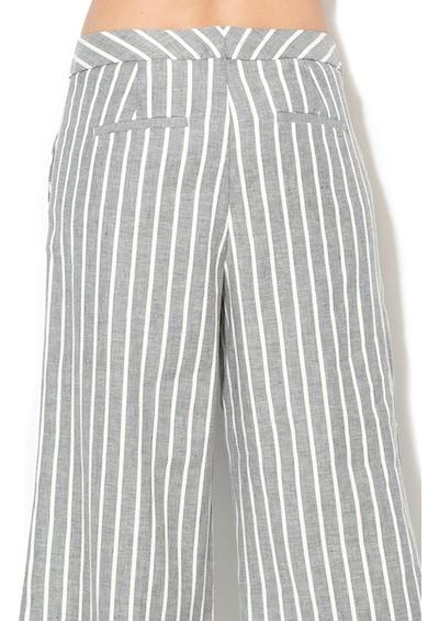Banana Republic Раирана пола-панталон с лен Жени