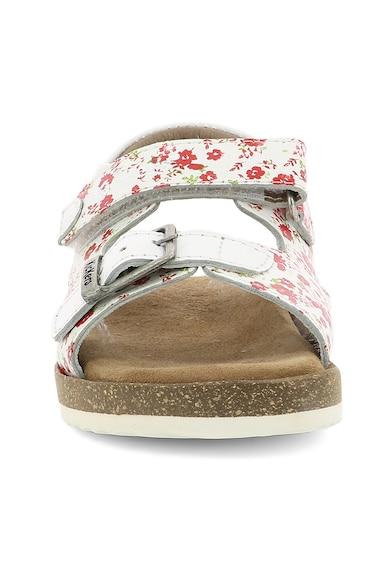 Kickers kids Sandale de piele cu imprimeu floral Fete