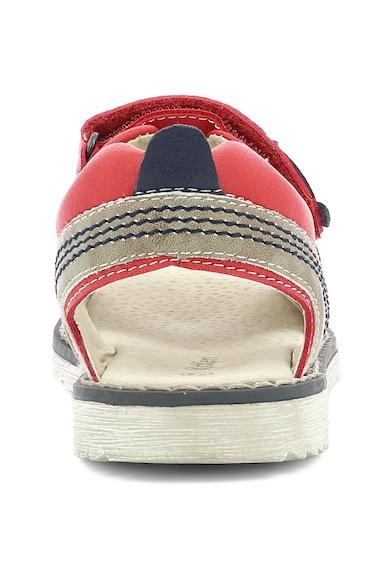 Kickers kids Sandale de piele ecologica Baieti