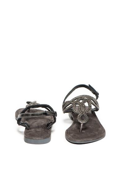 Tamaris Sandale de piele decorate cu strasuri Femei