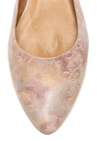 Tamaris Pantofi slingback cu varf ascutit, de piele intoarsa Femei