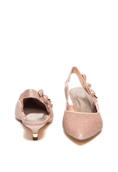 Tamaris Pantofi slingback cu aspect stralucitor Femei