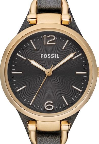 Fossil Esprit, Часовник Georgia с кожена каишка Жени
