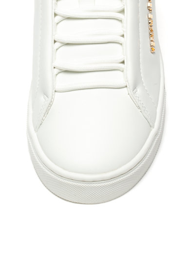 Versace Jeans Pantofi sport de piele ecologica Femei